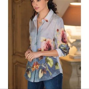 Soft Surroundings • NWT SILK BLOUSE